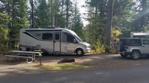 Spot B5 at Emigrant Springs State Park