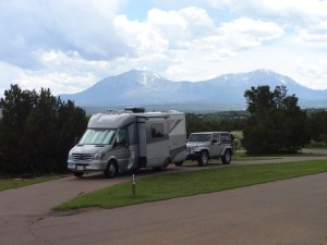RV at Lathrop State Park, CO