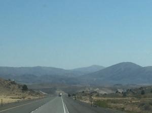 driving south through Idaho