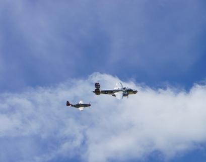 B-25 & P-51