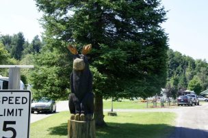 Moose River Campground, St. Johnsbury, Vermont