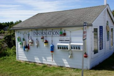 Winter Harbor self-serve Information Center