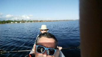 Selfie in the boat